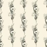 Fondo floral inconsútil del vector Fotografía de archivo