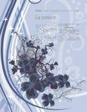 Fondo floral moderno ilustración del vector