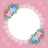 Fondo floral retro Fotos de archivo