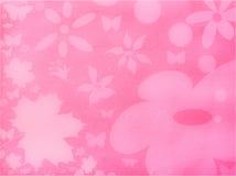 Fondo floral rosado Imagen de archivo