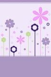 Fondo floral - vector Imagen de archivo