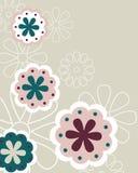 Fondo floral - vector Imagenes de archivo