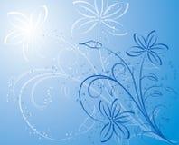 Fondo floral, vector Imagenes de archivo