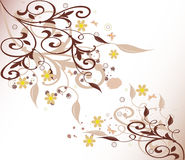 Fondo floral - vector libre illustration