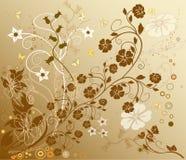 Fondo floral - vector