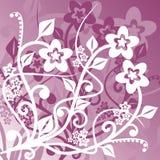 Fondo floral, vector stock de ilustración