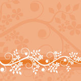 Fondo floral, vector Imágenes de archivo libres de regalías