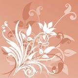 Fondo floral, vector Fotos de archivo