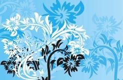 Fondo floral, vector libre illustration