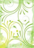 Fondo floral verde Foto de archivo