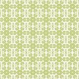 Fondo floral verde y blanco inconsútil stock de ilustración