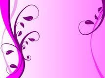 Fondo floral violeta ilustración del vector