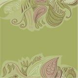 Fondo floreale dell'ornamento astratto illustrazione vettoriale