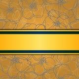 Fondo floreale ed ornamentale. Vettore stratificato. Illustrazione di Stock