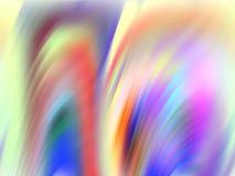Fondo fluido delle geometrie dell'arcobaleno pastello, grafici, fondo astratto e struttura royalty illustrazione gratis