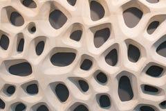 Fondo a forma di naturale del cemento Immagini Stock