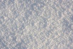 Fondo fresco de la nieve Fotografía de archivo libre de regalías