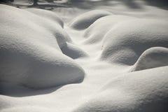 Fondo fresco de la nieve Imágenes de archivo libres de regalías