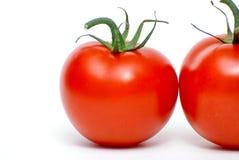 Fondo fresco de los tomates Fotos de archivo
