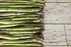 Fondo fresco dell'asparago Immagini Stock