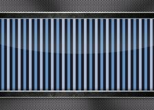 Fondo fresco su struttura della fibra del carbonio Fotografie Stock