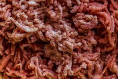 Fondo fresco/textura/papel pintado de la carne picadita Imagen de archivo