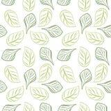 Fondo frondoso descritto senza cuciture per progettazione dell'involucro Colore verde royalty illustrazione gratis