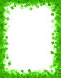 Fondo/frontera del día del St. Patricks Imagen de archivo