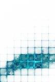 Fondo futurista abstracto Fotografía de archivo
