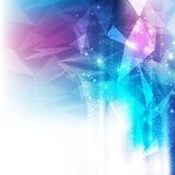 Fondo futurista abstracto de la tecnología digital vector del ejemplo Fotografía de archivo libre de regalías