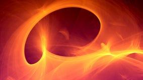 Fondo futurista abstracto del laberinto del fractal ilustración del vector