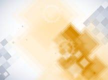 Fondo futurista abstracto del negocio de la informática Imagenes de archivo