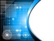 Fondo futurista de la tecnología Imagen de archivo libre de regalías