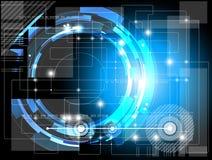 Fondo futurista de la tecnología