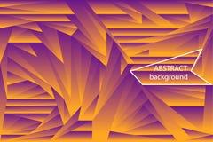Fondo futurista de las formas poligonales de la pendiente de semitono abstracta Imagenes de archivo
