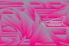 Fondo futurista de las formas poligonales de la pendiente de semitono abstracta Fotos de archivo libres de regalías