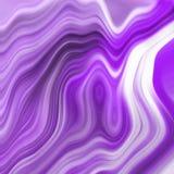 Fondo futurista del extracto de la lila, orientación cuadrada ilustración del vector