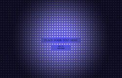 Fondo futuristico blu scuro del metallo Immagini Stock