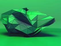 Fondo futuristico del poli triangolo basso di progettazione geometrica Immagine Stock Libera da Diritti