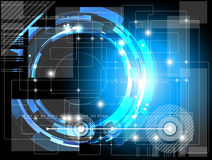 Fondo futuristico di tecnologia Immagine Stock