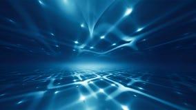 Fondo futuristico di tecnologia illustrazione vettoriale