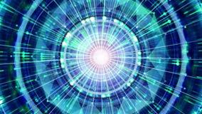 Fondo futuristico di tecnologia Tecnologia straniera, dello spazio cosmico e concetto dell'astronave illustrazione di stock