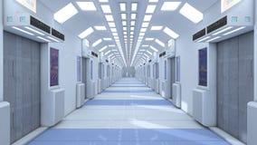 Fondo futuristico per il film Immagine Stock
