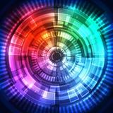 Fondo futuro abstracto del concepto de la tecnología ilustración del vector