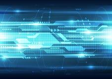 Fondo futuro abstracto del sistema de la tecnología de la velocidad, ejemplo del vector ilustración del vector