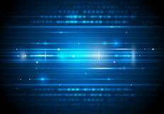 Fondo futuro di tecnologia digitale illustrazione di stock