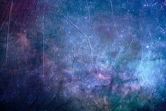 Fondo galáctico de niebla colorido artístico de la textura del extracto fotos de archivo libres de regalías