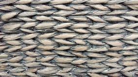 Fondo gambi secchi di vimini di vecchi di un cereale Fuoco molle fotografia stock libera da diritti