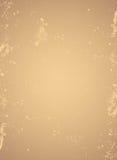 Fondo gastado del papel marrón Fotografía de archivo libre de regalías