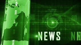 Fondo genérico de las noticias almacen de video